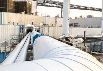 Rohrleitung Papierfabrik Anlagenerneuerung