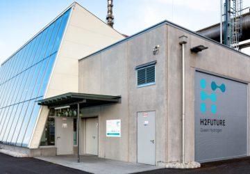 H2FUTURE für grüne Stahlproduktion