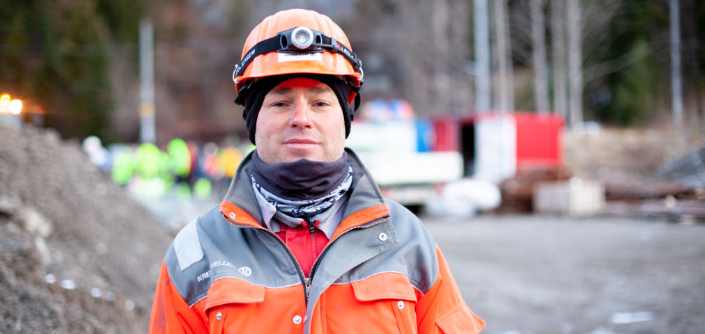 ÖBB Spullersee power plant: welding on mountain slopes